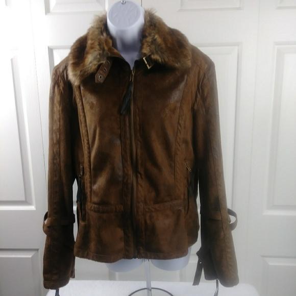 Montana Co. Jackets & Blazers - Montana Co. Faux Suede Jacket